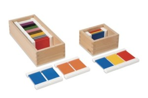 colour tablets montessori Mi Casa Blanchardstown